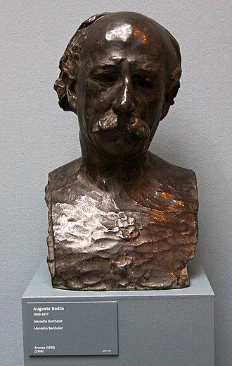 Marcellin Berthelot - Rodin's bust of Berthelot. Ny Carlsberg Glyptotek, Copenhagen, Denmark