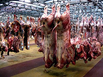 Rungis International Market - The meat sector of the Rungis wholesale market
