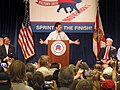 Marco Rubio, candidate for the U.S. Senate, speaking at a Republican political rally in Orlando, Florida.jpg