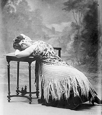 Marguerite Sylva - Marguerite Sylva as Carmen, her signature role. (Paris circa 1906)