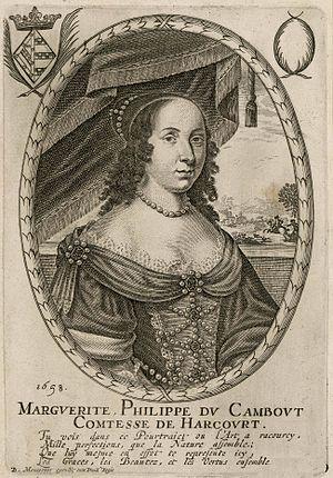 Marguerite-Philippe du Cambout - Image: Marguerite de Cambout de Coislin, comtesse d'Harcourt et d'Armagnac