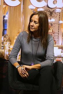 María Dueñas at Gothenburg book fair 2014.