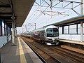Marine Liner at Uematsu Station 20181022.jpg