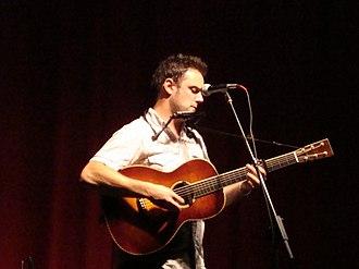 Mark Erelli - Erelli performing at the Woody Guthrie Folk Festival in July 2009.