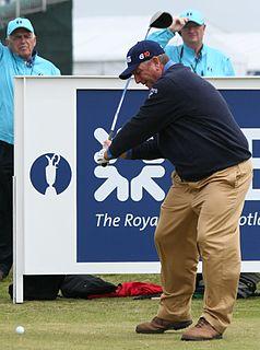 Mark Calcavecchia American golfer, PGA Tour member, British Open champion