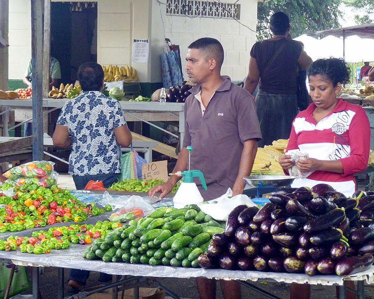 File:Market Produce, Debe Market, Trinidad and Tobago.JPG