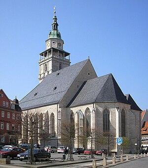 Bad Langensalza - Image: Marktkirche Bad Langensalza