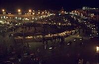 Marrakesh, Djemaa el Fna in the evening2 (js).jpg