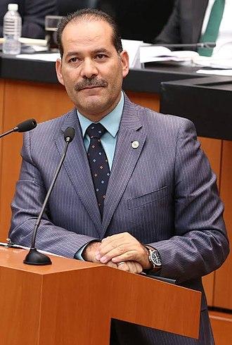 Governor of Aguascalientes - Image: Martín Orozco Sandoval (cropped 2)