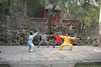Chen-style t'ai chi ch'uan - Chen-style practitioners in Single Whip