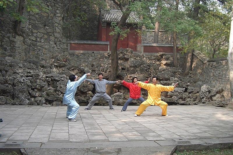 Martial arts - Fragrant Hills.JPG