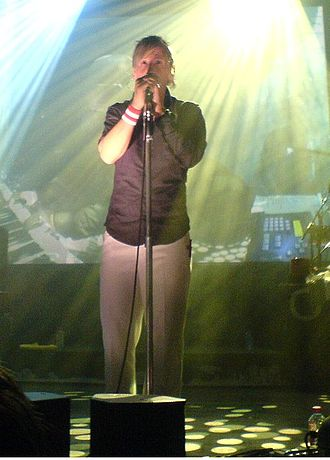 Delirious? - Frontman Martin Smith performing in 2006