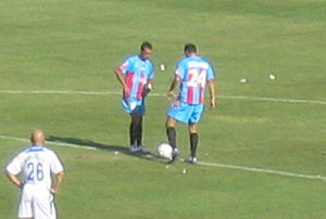Calcio Catania - Against Atalanta in Serie A in 2006.