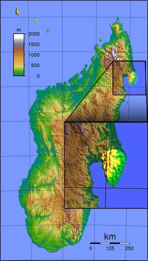 Masoala National Park - Location of Masoala National Park