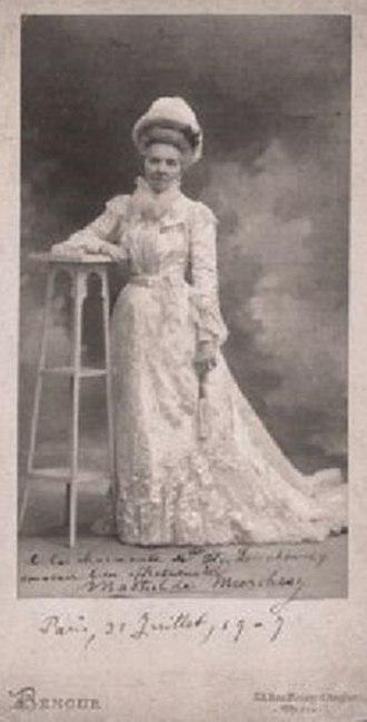 Mathilde Marchesi - Mathilde Marchesi