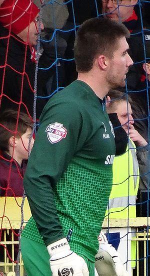 Matt Ingram - Ingram playing for Wycombe Wanderers in 2014