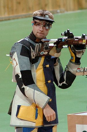 Matthew Emmons - Emmons at the 2004 Olympics