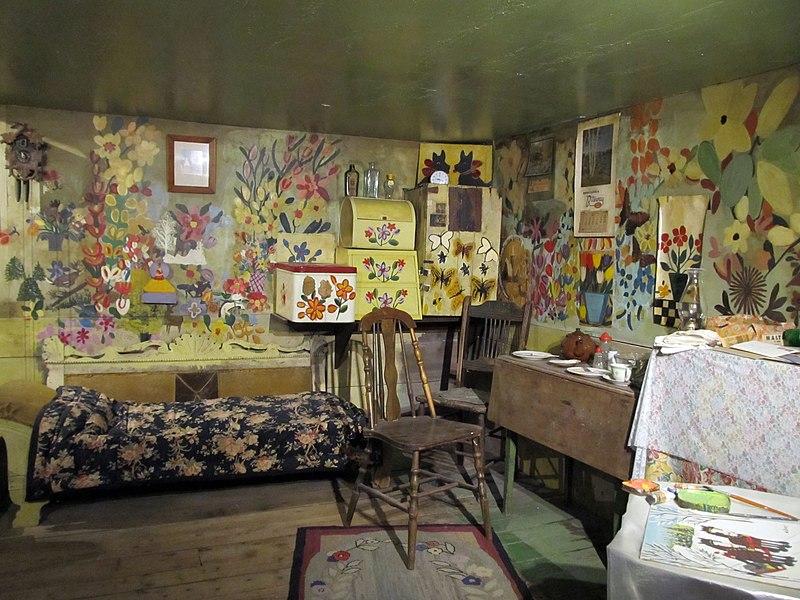 File:Maud Lewis House Interior 1 (41921993212).jpg