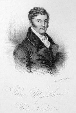 Maximilian, Wied-Neuwied, Prinz