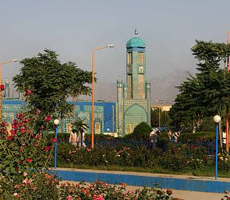 Religion in Asia - Mosque in Afghanistan