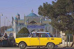 Den blå moské i Mazar-e Sharif