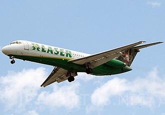 LASER Airlines - a Former LASER McDonnell Douglas DC-9