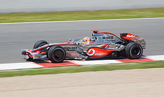 2008 Spanish Grand Prix - Lewis Hamilton started from fifth on the grid.