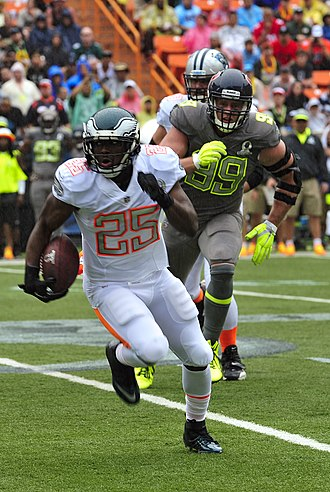 LeSean McCoy - McCoy playing in the 2014 Pro Bowl.