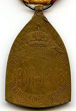 Medaille herdenkingsmunt 14 18 revers Belgique.jpg