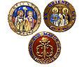 Medaillons van het kruis van de Orde van SS Cyrilius en Methodius.jpg