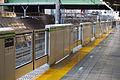 Meguro station Platform screen doors.JPG