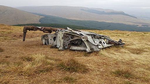 Meikle Bin wreckage 2