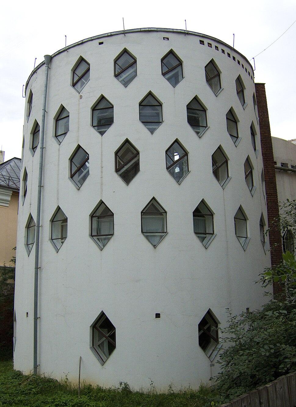 Melnikov House photo by Arssenev