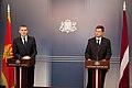 Melnkalnes premjera un Ministru prezidenta Valda Dombrovska tikšanās 31.08.2011. (6099527132).jpg