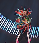 Melodifestivalen 2019, deltävling 1, Scandinavium, Göteborg, Eric Saade, 12.jpg