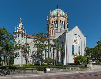 Memorial Presbyterian Church - Image: Memorial Presbyterian Church, St. Augustine FL, Southeast view 20160707 1