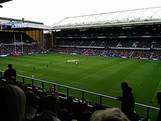 Rugby sevens at the 2014 Commonwealth Games - Ibrox hosting the Rugby Sevens tournament of the 2014 Commonwealth Games
