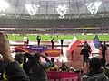 Men's pole vault medal ceremony (35726617484).jpg