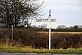 Menmarsh Guide Post - geograph.org.uk - 1710906.jpg