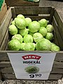 Meny suopermarket grocery store Tønsberg Norway cabbage hodekål tilbud plakat 2017-09-20 01.jpg