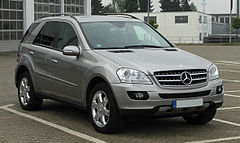 Mercedes-Bezn ML II (W164) przed liftingiem
