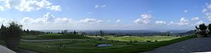 Newcastle, Washington - Image: Mercer Island from Golf Club