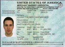 Merchant Mariner Credential Wikipedia