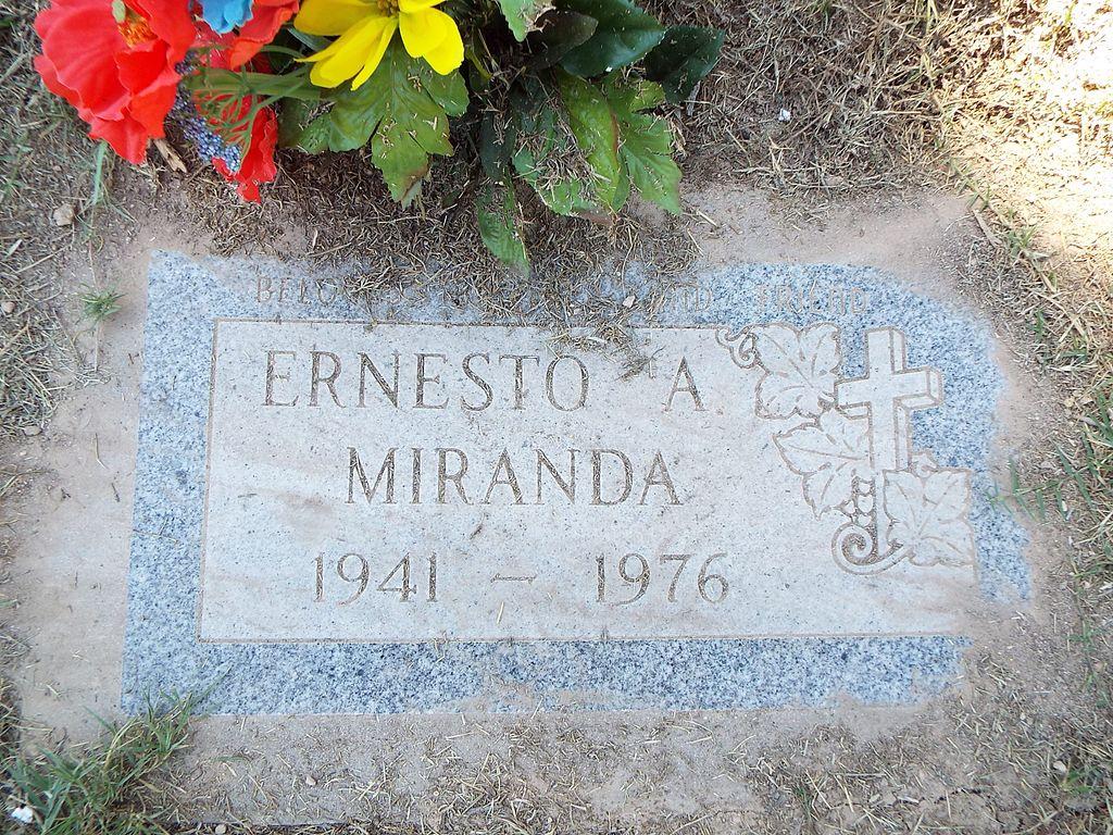 Mesa-City of Mesa Cemetery-Ernesto Arturo Miranda