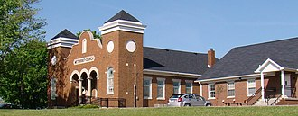 National Register of Historic Places listings in Garrard County, Kentucky - Image: Methodist Church, Bryantsville