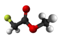 Methyl fluoroacetate3D.png