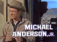 "Michael Anderson Jr. in trailer for ""The Sons of Katie Elder"" (1965)"