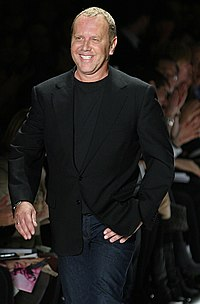 Michael Kors - the cool, cute,  designer  with Irish, Swedish,  roots in 2017