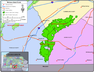 Michaux State Forest - Wikipedia