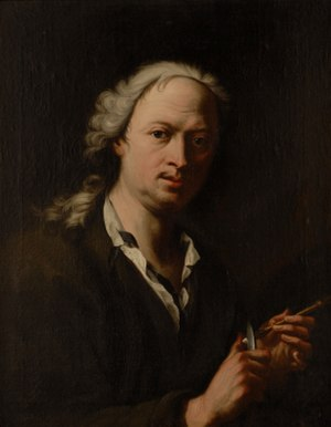 Michelangelo Unterberger - Self-portrait (1735)